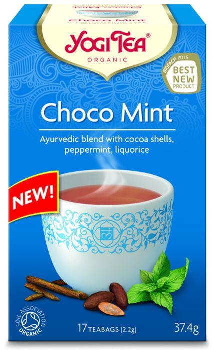 Yogi Tea Choco Mint травяной чай в пакетиках, 17 шт482404Аюрведическая чайная смесь Yogi Tea Choco Mint с оболочками какао-бобов, перечной мятой, солодкой. Часто после продолжительного и напряженного дня ваши мысли просто не оставляют вас в покое и постоянно крутятся в голове. Yogi Tea Шоколад и мята, распространяющий восхитительный аромат шоколада, позволяет нам оставить день позади. Входящая в его состав освежающая и охлаждающая мята является прекрасным дополнением, так её масло очаровывает нашу душу. Заключительную нотку привносят ваниль, кардамон и чёрный перец. Девиз этого чая: Дай отдых своим мыслям, Управляй своими мыслями или твои мысли будут управлять тобой. Мы, люди, являемся целостными существами - с телом, разумом и душой. Для хорошего самочувствия нам необходимо осознанно относиться к питанию, заниматься физическими упражнениями для поддержки нашего тела, а также заботиться о духовном наполнении нашего разума и души. Yogi Tea дарит вдохновение с каждой чашкой чая. С помощью мудрых...