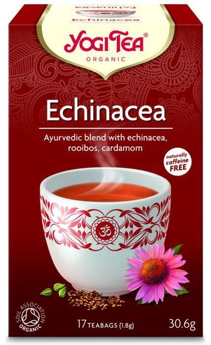 Yogi Tea Echinacea травяной чай в пакетиках, 17 шт481304Аюрведическая чайная смесь Yogi Tea Echinacea с эхинацеей, ройбушем и кардамоном. Эта пряная сладкая травяная чайная смесь помогает поддерживать физический баланс и хорошее самочувствие. Ценная эхинацея в сочетании со сладким фенхелем, пряным имбирём и кардамоном делают эту аюрведическую чайную смесь особенно гармоничной. Девиз этого чая: Я защищён, Мне не интересно где и чему ты учился. Я хочу знать, что придаёт тебе силы, когда всё разваливается на части. Мы, люди, являемся целостными существами - с телом, разумом и душой. Для хорошего самочувствия нам необходимо осознанно относиться к питанию, заниматься физическими упражнениями для поддержки нашего тела, а также заботиться о духовном наполнении нашего разума и души. Yogi Tea дарит вдохновение с каждой чашкой чая. С помощью мудрых афоризмов на каждом чайном ярлычке и вдохновляющих йога упражнений на каждой упаковке, мы приглашаем вас обрести баланс вашего тела, души и духа, в то время как...