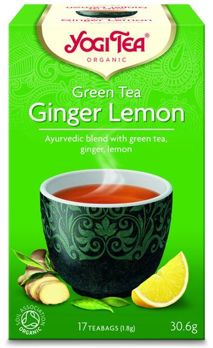 Yogi Tea Ginger Lemon зеленый чай в пакетиках, 17 шт485404Аюрведическая чайная смесь Yogi Tea Ginger Lemon с зелёным чаем, имбирём и лимоном. Успокаивающий зелёный чай добавляет медитативную нотку к пряности имбиря. Сладкий фруктовый вкус мирта и сорго лимонного в сочетании со свежестью перечной мяты возносят этот чай на небывалые высоты, придавая ему освежающий и благородный характер. Девиз этого чая: Активность и открытость, Образование – это то, чему учит тебя твоя интуиция. Мы, люди, являемся целостными существами - с телом, разумом и душой. Для хорошего самочувствия нам необходимо осознанно относиться к питанию, заниматься физическими упражнениями для поддержки нашего тела, а также заботиться о духовном наполнении нашего разума и души. Yogi Tea дарит вдохновение с каждой чашкой чая. С помощью мудрых афоризмов на каждом чайном ярлычке и вдохновляющих йога упражнений на каждой упаковке, мы приглашаем вас обрести баланс вашего тела, души и духа, в то время как вы наслаждаетесь чашкой изысканного...