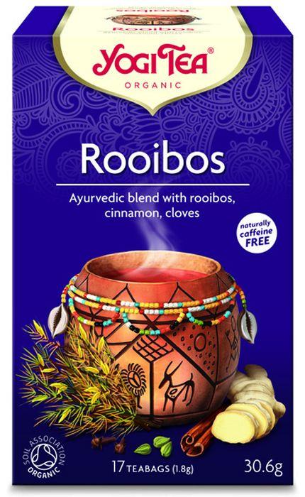 Yogi Tea Rooibos травяной чай в пакетиках, 17 шт410504Аюрведическая чайная смесь Yogi Tea Rooibos с ройбушем, корицей и гвоздикой. Сладкий тёплый солнечный чай Ройбуш отражает богатый африканский фольклор. Традиционные пряности Yogi Tea: корица, имбирь, кардамон, гвоздика и немного чёрного перца пробуждают к жизни нежный, землистый аромат этого чая. Плоды рожкового дерева и ваниль усовершенствуют этот сладкий приятный чай. Изящный девиз этого чая: Растущий из объятий матушки Земли, Если хочешь летать, лети. Мы, люди, являемся целостными существами - с телом, разумом и душой. Для хорошего самочувствия нам необходимо осознанно относиться к питанию, заниматься физическими упражнениями для поддержки нашего тела, а также заботиться о духовном наполнении нашего разума и души. Yogi Tea дарит вдохновение с каждой чашкой чая. С помощью мудрых афоризмов на каждом чайном ярлычке и вдохновляющих йога упражнений на каждой упаковке, мы приглашаем вас обрести баланс вашего тела, души и духа, в то время как вы...