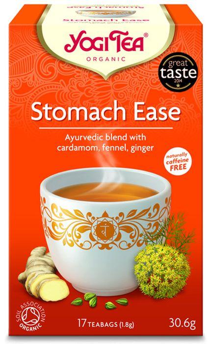 Yogi Tea Stomach Ease травяной чай в пакетиках, 17 шт480104Аюрведическая чайная смесь Yogi Tea Stomach Ease с кардамоном, фенхелем и имбирём. Yogi Tea Stomach Ease создан на основе аюрведических традиций чая масала. Это специальная смесь трав обладает великолепным ароматом. В состав этой смеси входят такие травы как фенхель, солодка и перечная мята, а также согревающие сердце специи – кардамон, кориандр, имбирь и чёрный перец, что позволяет наслаждаться этой великолепной чайной смесью несколько раз в день, в том числе и во время еды. Девиз этого чая: Комфорт, Мы то, что мы едим. Мы то, что мы в состоянии переварить. Мы, люди, являемся целостными существами - с телом, разумом и душой. Для хорошего самочувствия нам необходимо осознанно относиться к питанию, заниматься физическими упражнениями для поддержки нашего тела, а также заботиться о духовном наполнении нашего разума и души. Yogi Tea дарит вдохновение с каждой чашкой чая. С помощью мудрых афоризмов на каждом чайном ярлычке и вдохновляющих йога...