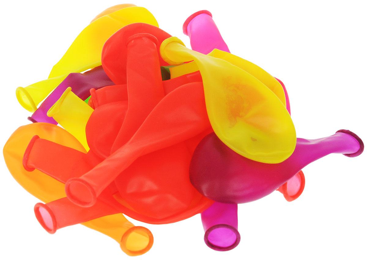 Веселая затея Набор воздушных шаров Неон, 20 шт1111-0360Набор воздушных шаров Веселая затея Неон неотъемлемый аксессуар любого праздника. Выполнены из прочного натурального латекса. Неоновые шары - это шары которые светятся под ультрафиолетовыми лампами. В наборе представлены 20 разноцветных шариков. Положительные эмоции и праздничное настроение будут на высоте!