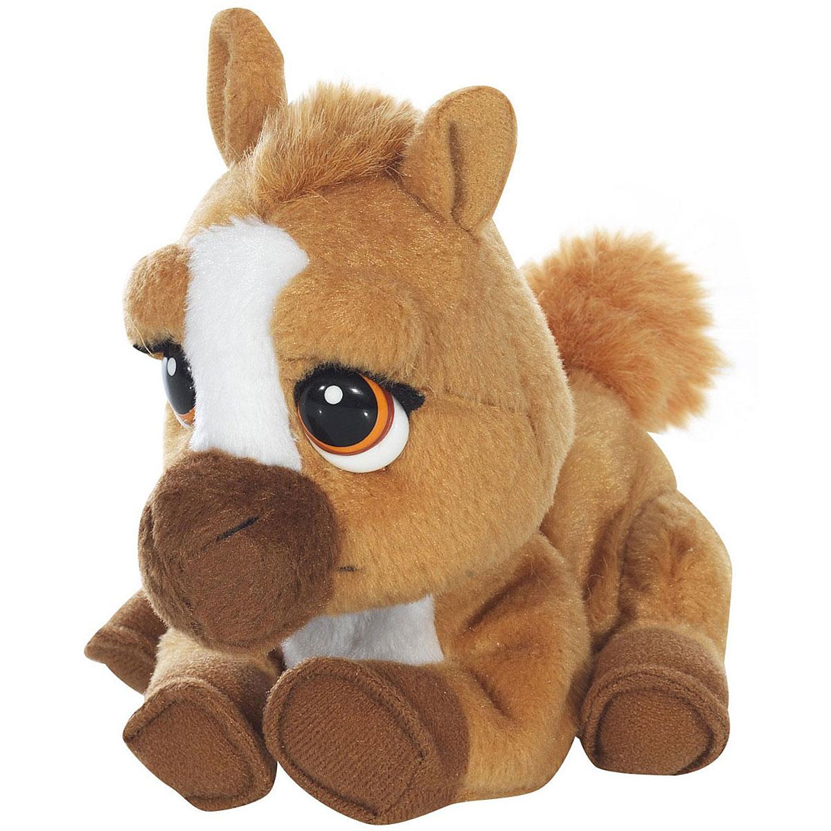 Emotion Pets Анимированная игрушка Little ToffeeGPH30277_коричневыйАнимированная игрушка Emotion Pets Little Toffee приведет в восторг вашего малыша. Приятная на ощупь игрушка выполнена в виде очаровательной лошадки с пластиковыми глазками. При нажатии на кнопку на ее спинке она виляет хвостиком, кивает головкой и поднимает одну лапку. Игрушка принесет ребенку много радости и станет верным другом на долгое время. Рекомендуется докупить 1 батарейку напряжением 1,5V типа АА (товар комплектуется демонстрационной).