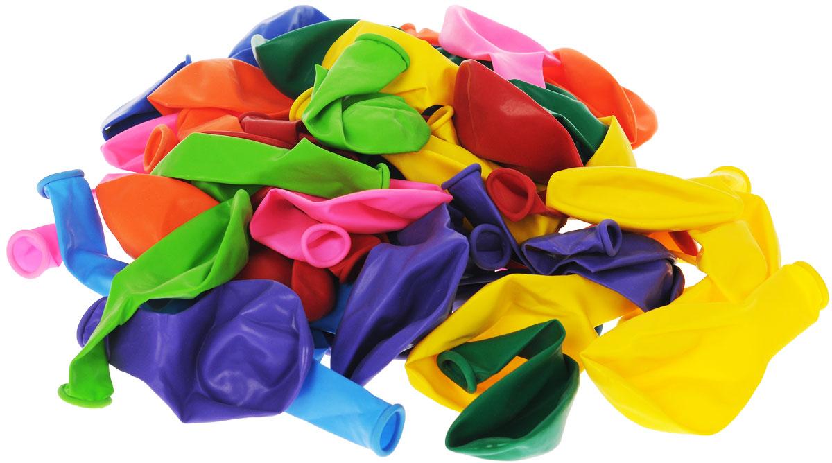 Веселая затея Набор воздушных шаров Пастель, 50 шт1111-0102Набор воздушных шаров Веселая затея Пастель - яркий красочный штрих на вашем празднике. Шарики изготовлены из натурального латекса. В наборе представлены 50 разноцветных шаров. Шарики легкие и приятные на ощупь. Они создадут неповторимую праздничную атмосферу торжества и станут отличным украшением любого помещения.