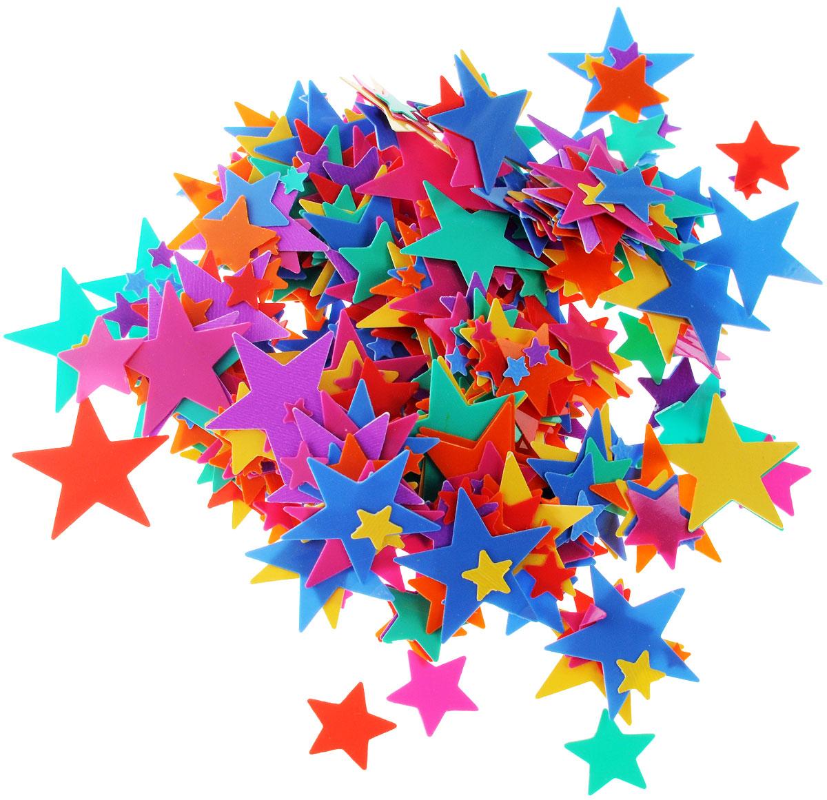 Веселая затея Конфетти Разноцветные звезды, 14 г1501-0191Конфетти Веселая затея Разноцветные звезды - неотъемлемый атрибут праздников, триумфальных шествий, а также свадебных торжеств. Выполнено из прочного материала в форме разноцветных звездочек. Конфетти осыпают друг друга участники празднеств или его сбрасывают сверху. Конфетти, рассыпанное на столе, является необычной и привлекательной формой украшения праздничного застолья. Еще один оригинальный способ порадовать друзей и близких - насыпьте конфетти в конверт с открыткой - это будет неожиданный сюрприз! Это чудесное украшение принесет в ваш дом или офис незабываемую атмосферу праздничного веселья!
