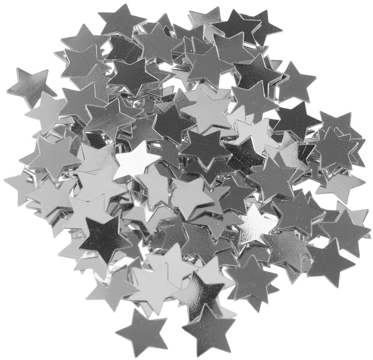 Веселая затея Конфетти Серебряные звезды, 14 г1501-0196Конфетти Веселая затея Серебряные звезды - неотъемлемый атрибут праздников, триумфальных шествий, а также свадебных торжеств. Выполнено из прочного материала в форме серебряных звездочек. Конфетти осыпают друг друга участники празднеств или его сбрасывают сверху. Конфетти, рассыпанное на столе, является необычной и привлекательной формой украшения праздничного застолья. Еще один оригинальный способ порадовать друзей и близких - насыпьте конфетти в конверт с открыткой - это будет неожиданный сюрприз! Это чудесное украшение принесет в ваш дом или офис незабываемую атмосферу праздничного веселья!