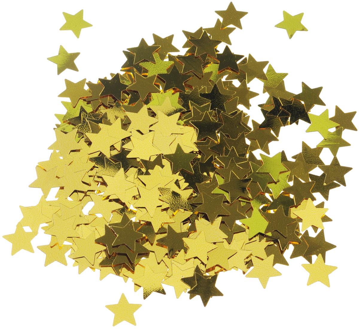 Веселая затея Конфетти Золотые звезды, 14 г1501-0192Конфетти Веселая затея Золотые звезды - неотъемлемый атрибут праздников, триумфальных шествий, а также свадебных торжеств. Выполнено из прочного материала в форме золотых звездочек. Конфетти осыпают друг друга участники празднеств или его сбрасывают сверху. Конфетти, рассыпанное на столе, является необычной и привлекательной формой украшения праздничного застолья. Еще один оригинальный способ порадовать друзей и близких - насыпьте конфетти в конверт с открыткой - это будет неожиданный сюрприз! Это чудесное украшение принесет в ваш дом или офис незабываемую атмосферу праздничного веселья!