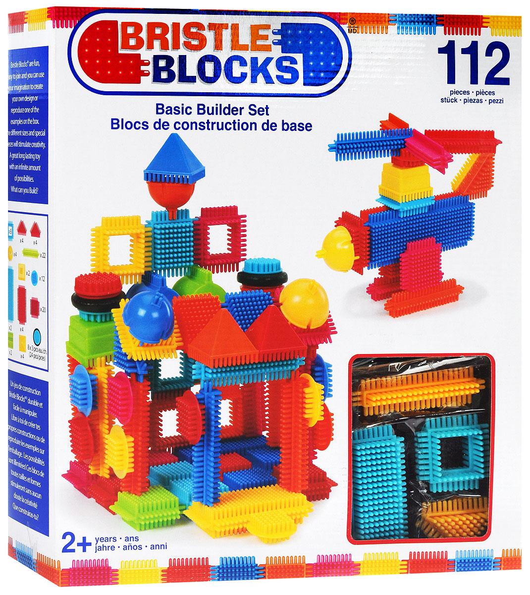 Battat Конструктор Bristle Blocks 6816868168Оригинальный игольчатый конструктор Battat Bristle Blocks - тактильный детский конструктор, который позволит вашему ребенку проявить свою фантазию. Элементы конструктора выполнены из яркого разноцветного пластика и оснащены игольчатыми сторонами, которые легко соединяются между собой практически в любой плоскости. Комплект включает 112 элементов для сборки конструктора. Игольчатый конструктор Battat Bristle Blocks поможет ребенку развить мелкую моторику рук, логическое и пространственное мышление, творческие способности, а также поможет научиться соотносить форму и величину предметов.