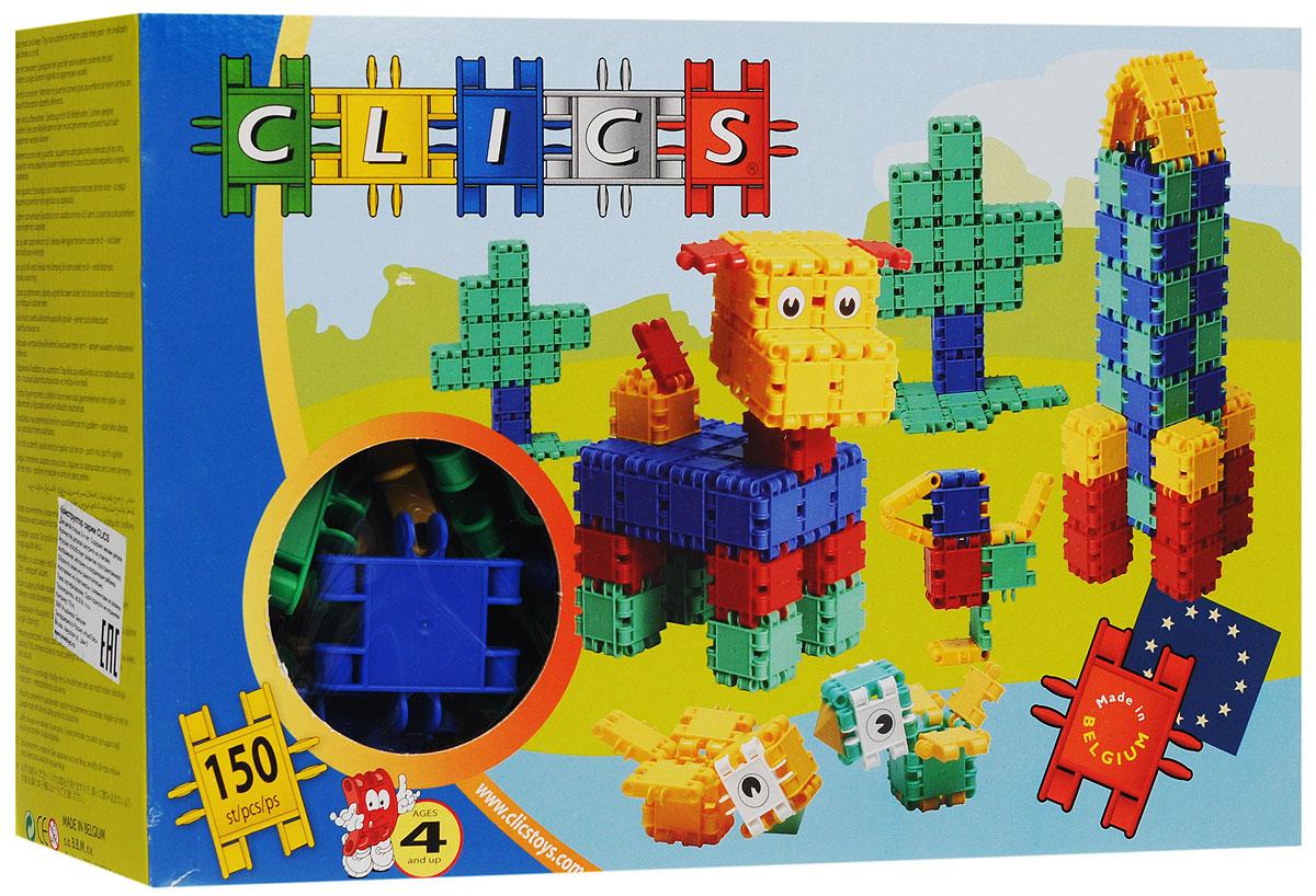 Clics Конструктор RC150RC150Конструктор Clics (Кликс) - отличный набор для всестороннего развития вашего ребенка. Этот конструктор поможет развить логическое мышление, мелкую моторику рук, воображение, фантазию. Особенность конструктора заключается в том, что он позволяет ребенку строить бесконечные забавные модели руководствуясь своей фантазией или по прилагаемой инструкции (по инструкции собираются машинка с прицепом, домик, собака, ракета или танк). Конструктор содержит: 128 элементов, 4 пирамидки, 10 колес, 6 осей и 2 фаркопа для машин.