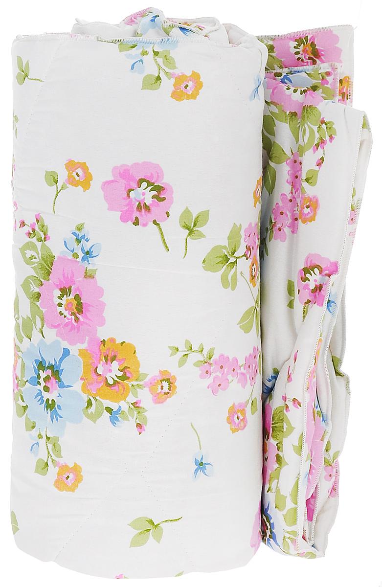 Одеяло Sleeper Находка, наполнитель: овечья шерсть, цвет: белый, 172 см х 200 см20(33)323_белый с цветамиЛегкое шерстяное одеяло Sleeper Находка подарит уют и комфорт во время сна. Чехол одеяла выполнен из микрофибры и оформлен красивым рисунком. Внутри - синтетический наполнитель из 100% овечьей шерсти. Изделия с шерстяным наполнителем имеют хорошую циркуляцию воздуха, уникальные теплозащитные свойства, мягкие и упругие и благотворно влияют на организм. Одеяло очень легкое, удобное и комфортное, оно создаст оптимальный микроклимат в постели - в теплое время года под ним не будет ни холодно, ни жарко. Рекомендации по уходу: - Не стирать. - Не гладить. - Не отбеливать. - Химчистка с использованием углеводорода, хлорного этилена. Размер одеяла: 172 см х 200 см. Материал чехла: микрофибра (100% полиэстер). Материал наполнителя: 100% овечья шерсть. Масса наполнителя: 200 г/кв.м.