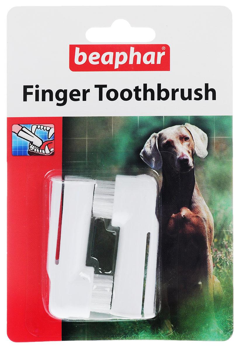 BeapharToothbrush зубная щетка на палец двойная для собак всех размеров, цвет: белый55974Многие проблемы со здоровьем могут быть следствием отсутствия вни- мания к гигиене полости пасти. Ежедневная чистка удаляет частицы пищи и снижает количество бактерий. Раннее образование налета надо удалять с целью предотвращения неприятного запаха из пасти и зубов. Использование зубной щетки на палец: кисть удобно помещается на пальце, что позволяет легко добраться до всех областей полости рта. Убедитесь, что ваш питомец максимально спокоен перед началом проце- дуры. Щетка должна быть увлажнена перед использованием. Нанесите немного зубной пасты Beaphar . Аккуратно почистите все зубы. Гигиена полости пасти рассматривается как часть ухода и должна проводиться ежедневно, чтобы достичь максимальной пользы.