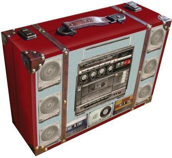 Декоративная шкатулка Магнитофон, 38 см х 26 см х 12 см37347Мы продаем самые разные шкатулки, но их объединяет одно – они очень красивые и оригинальные. Материал: мдф.