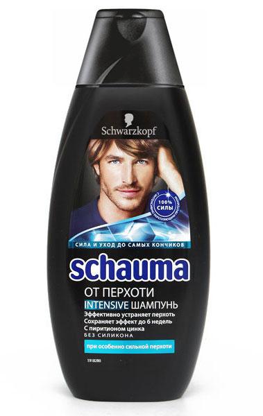 SCHAUMA Шампунь От перхоти Интенсивный, 380 мл9000543Schauma от перхоти INTENSIVE с еще более высоким содержанием цинк-пиритиона эффективно борется даже с сильной перхотью уже после первого применения. Тип волос: против сильной перхоти, для ежедневного применения Шампунь эффективно борется с перхотью и предотвращает ее появление до 6 недель Препятствует появлению зуда и раздражения кожи головы Сильные и здоровые волосы без перхоти Цинк-пиритион является самым эффективным средством для борьбы с перхотью Здоровые волосы без перхоти