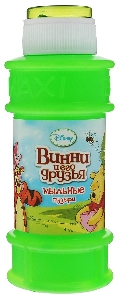 Веселая затея Мыльные пузыри Disney: Винни и его друзья, 175 мл, цвет: зеленый1504-0203Мыльные пузыри Веселая затея Disney: Винни и его друзья станут отличным развлечением на любой праздник! Парящие в воздухе, большие и маленькие, блестящие мыльные пузыри всегда привлекают к себе особое внимание не только детишек, но и взрослых. Смеющиеся ребята с удовольствием забавляются и поднимают настроение всем окружающим, создавая неповторимую веселую атмосферу солнечного радостного дня. В крышке встроена игрушка-лабиринт с шариком. Порадуйте вашего ребенка таким замечательным подарком!
