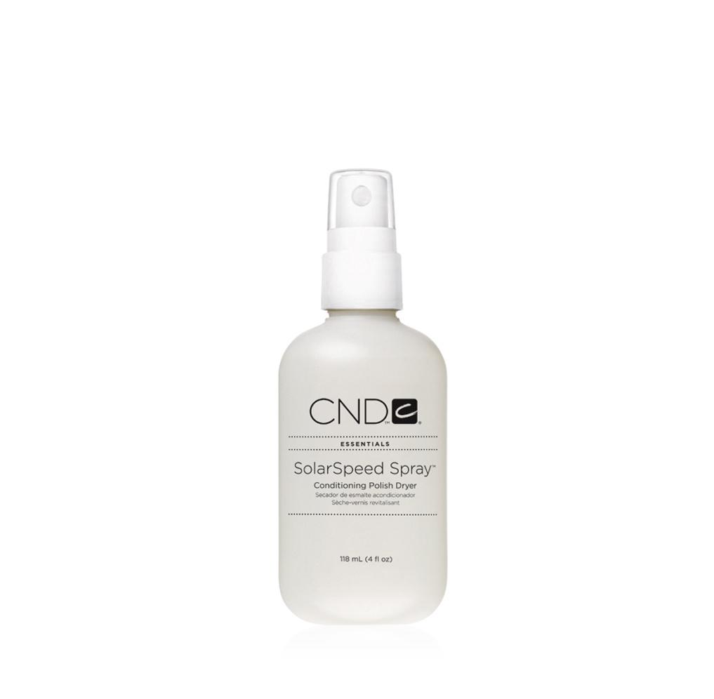 CND Сушка-спрей для лака, 118 мл14044Препарат от CND - сушка-спрей позволяет высушить все слои покрытия всего за 5 - 7 минут. Наличие в составе масла Solar Oil обеспечивает кондиционирование кутикулы и ногтей, а витамин Е и масло сладкого миндаля создают питательную смесь со вкусным ароматом. Специальные ингредиенты придают покрытию гибкость, что позволяет бесследно устранить даже такой дефект, как смазанный лак. Рекомендуется для профессионального и домашнего использования. Товар сертифицирован.