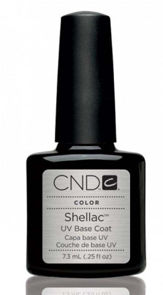 CND Базовое покрытие CND SHELLAC UV Base Coat, 12,5 мл40404Назначение: Средство предназначено для подготовки ногтевой пластины перед нанесением гелевого покрытия или лака. Гарантирует стойкость маникюра, делает ногтевую пластину более ровной и наполняет ее питательным веществами. Действие: Базовое покрытие имеет гипоалергенную формулу, поэтому подходит практически всем. Оно легко наносится, делает ногтевую пластину более ровной и наполняет ее питательным веществами. Базовое покрытие, которое является  фундаментом в Shellac-системе. Один тонкий слой ультрафиолетового покрытия обеспечивает прочное сцепление средства с ногтевой пластиной, полимеризуется в УФ-лампе в течение 10 секунд. Перед тем, как наносить цветное покрытие Shellac, ногтевую пластину необходимо подготовить. Во-первых, для того, чтобы обеспечить дополнительную защиту, а во-вторых, чтобы гарантировать максимальную стойкость цвета. Для этого специалисты американской компании CND Shellac создали уникальное базовое покрытие UV Base Coat.