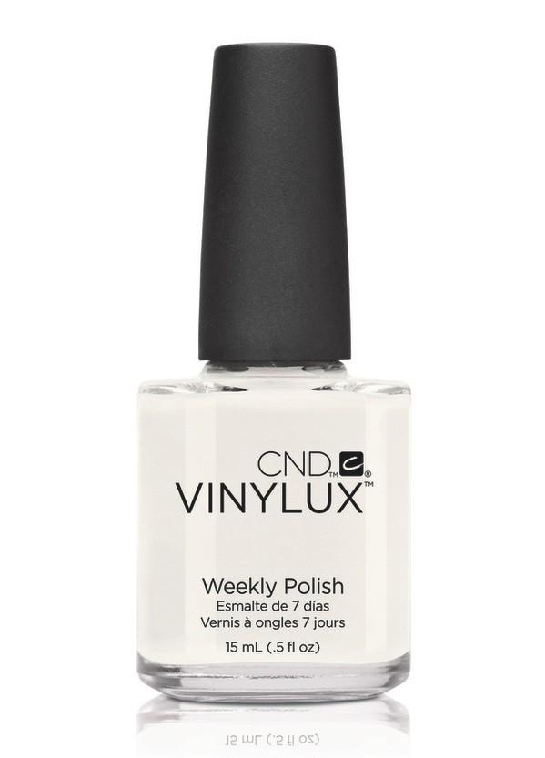 CND Винилюкс Профессиональный недельный лак VINYLUX, #108 Cream Puff, 15 мл9871Лак VINYLUX™ – это, в первую очередь, лак, отвечающий современным требованиям. Он маркирован значком 3Free, который говорит об отсутствии в его составе таких вредных компонентов, как дибутилфталат, толуол, формальдегид и его смол. Vinylux (винилюкс) - это двухступенчатая система нанесения лака, состоящая из цветного покрытия и закрепителя. Благодаря инновационной технологии ваш маникюр станет более совершенным, а процесс еего выполнения еще более быстрым. Больше не нужно использовать базу, самоклеющийся состав цветного покрытия не содержит вредных веществ и одновременно обеспечивает защиту вашим ногтям. Закрепитель позволяет лаку держаться на ногтях неделю без сколов и царапин. Vinylux высыхает за восемь с половиной минут и не требует использования UV-лампы. Сейчас насчитывается 62 модных цвета покрытия, включая более 30 цветов, которые совпадают с популярными оттенками CND Shellac. Новинка от CND Vinylux - это более стойкое, блестящее покрытие, которое держится неделю. Расход...