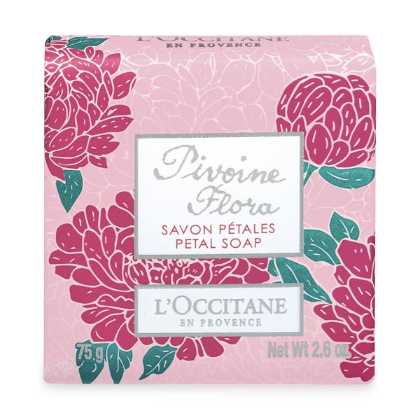 LOccitane Мыло Пион 75 г337042Мыло деликатно очищает кожу рук и тела, оставляя яркий цветочный аромат. Содержит экстракт Пиона из региона Дром.