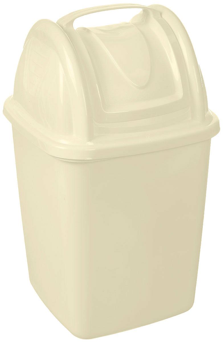 Контейнер для мусора Gensini, с ручкой, цвет: молочный, 4 л - Gensini - Gensini3278_молочныйКонтейнер для мусора Gensini изготовлен из прочного пластика. Такой аксессуар очень удобен в использовании как дома, так и в офисе. Контейнер снабжен удобной поворачивающейся крышкой и ручкой. Стильный дизайн сделает его прекрасным украшением интерьера.
