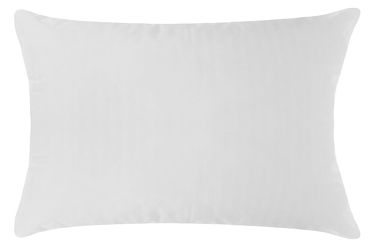 Подушка Primavelle Swan, наполнитель: лебяжий пух, цвет: белый, 50 х 72 см119618110Чехол подушки Primavelle Swan выполнен из 100% хлопка. Наполнитель подушки состоит из 100% лебяжьего пуха. Подушка Primavelle Swan с наполнителем из искусственного лебяжьего пуха - великолепное сочетание белоснежного чехла из сатина и воздушного наполнителя. В качестве наполнителя использовано сверхтонкое микроволокно нового поколения - лебяжий пух. Лебяжий пух легок, приятен на ощупь, легко принимает оптимальную форму, не вызывает аллергии. Одеяло с таким наполнителем легко стирается и быстро сохнет, сохраняя свои первоначальные свойства. Подушка упакована в тканевый чехол с одной пластиковой стороной на змейке с ручкой, что является чрезвычайно удобным при переноске. Рекомендации по уходу: - Допускается стирка при 30 градусах, - Нельзя отбеливать. При стирке не использовать средства, содержащие отбеливатели (хлор), - Не гладить. Не применять обработку паром, - Сухая чистка, - Нельзя выжимать и сушить в...