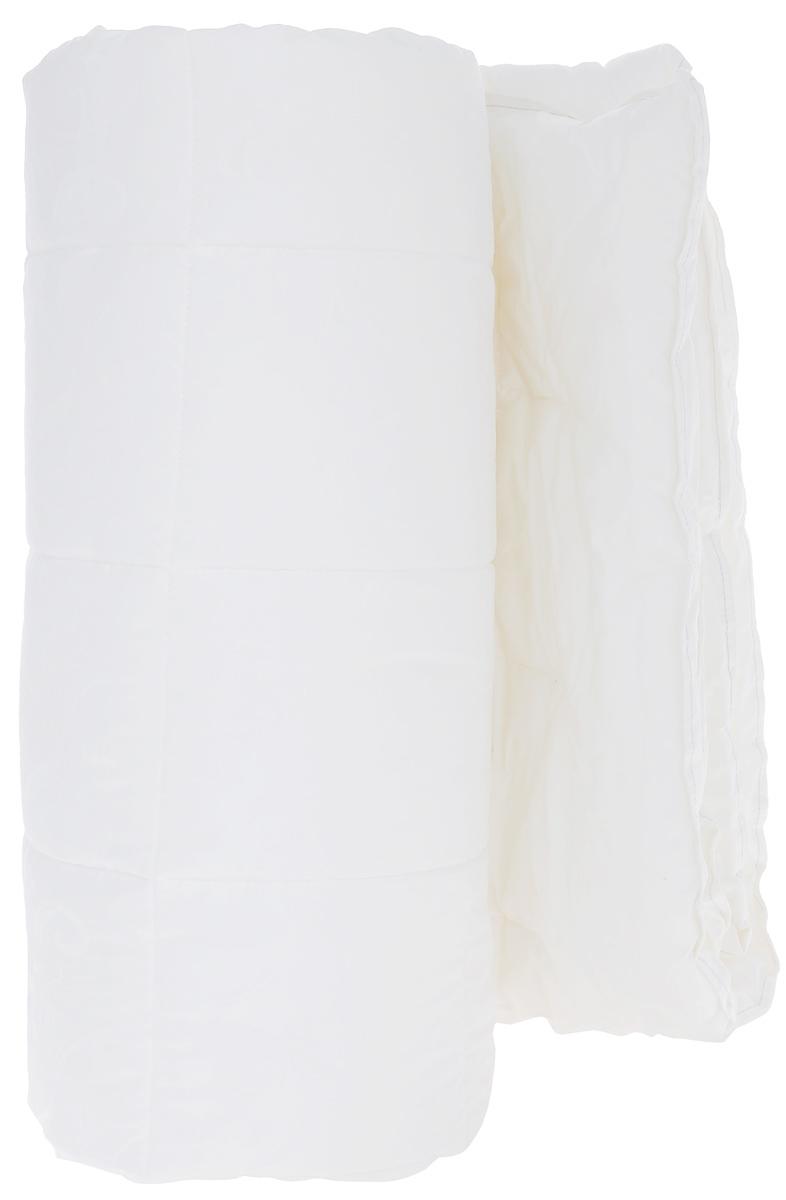 Одеяло Primavelle Swan Premium, наполнитель: микроволокно Filium, цвет: белый, 140 см х 205 см121834102-PsЧехол одеяла Primavelle Swan Premium выполнен из 100% хлопка. Наполнитель одеяла состоит из микроволокна Filium (100% полиэстер). Стежка надежно удерживает наполнитель внутри и не позволяет ему скатываться. Сочетание королевского жаккарда из натурального хлопка и волокна Fillium подарит Вам крепкий и комфортный сон. Одеяло разработано по европейской технологии двойной отстрочки края, что придает ему изысканный вид. Классическая стежка клетка надежно закрепляет наполнитель внутри чехла и сохраняет его объем. Элегантная вышивка Primavelle в уголке изделия не только украшение, но и знак подлинного качества. Наполнитель Fillium – это прекрасная альтернатива натуральному пуху. Благодаря сочетанию лучших свойств пуха и достоинству искусственных волокон он обладает следующими преимуществами: - не вызывает аллергии, препятствуют размножению пылевого клеща; - обладает высокими теплоизоляционными свойствами; - мягкий, легкий и упругий, легко...