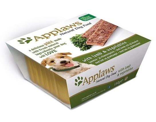 Паштет для Собак с Ягненком и овощами (Dog Pate with Lamb & vegetables), 150 г10293Нежный паштет Applaws – это полнорационная порция мясного/рыбного мусса с добавлением всех необходимых для собаки витаминов и минералов. Упаковка в виде алюминиевого контейнера прекрасно сохраняет качество ингредиентов и его непревзойденный вкус. Состав: Курица 27%, Свинина 19%, Молодая морковь 8%, Зеленый горошек 8%, Филе ягненка4%, Индейка 4%, Рыба 4%. Пищевые добавки: Витамин Е 30 МЕ/кг, Сульфат меди 1мг/кг, Сульфат цинка 20 мг/кг. Гарантированный анализ: Белки 10%, Жиры 5,5%, Клетчатка 0,2%, Зола 2,3%, Влага 82%.