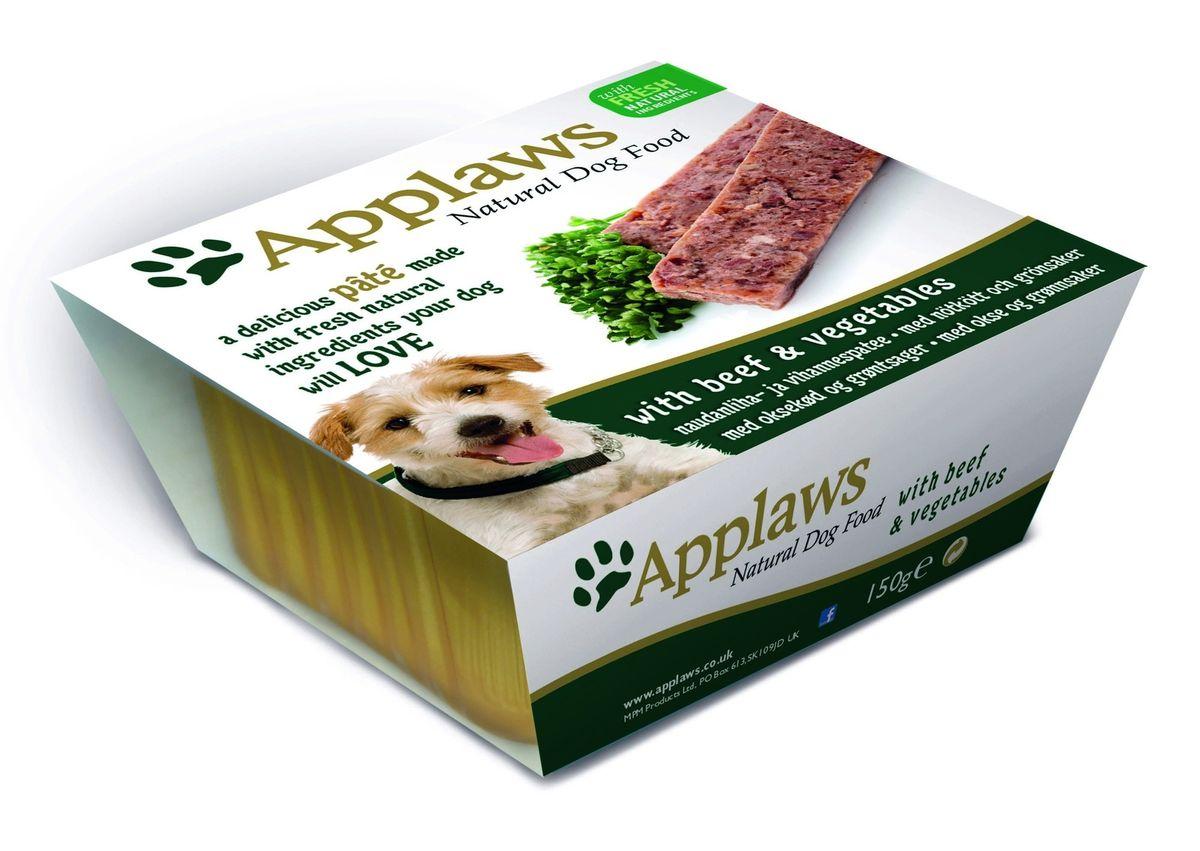 Паштет для Собак с Говядиной и овощами (Dog Pate with Beef & vegetables), 150 г10294Нежный паштет Applaws – это полнорационная порция мясного/рыбного мусса с добавлением всех необходимых для собаки витаминов и минералов. Упаковка в виде алюминиевого контейнера прекрасно сохраняет качество ингредиентов и его непревзойденный вкус. Состав: Курица 27%, Свинина 19%, Молодая морковь 8%, Зеленый горошек 8%, Говядина 4%, Индейка 4%, Рыба 4%. Пищевые добавки: Витамин Е 30 МЕ/кг, Сульфат меди 1мг/кг, Сульфат цинка 20 мг/кг. Гарантированный анализ: Белки 10%, Жиры 5,5%, Клетчатка 0,2%, Зола 2,3%, Влага 82%.