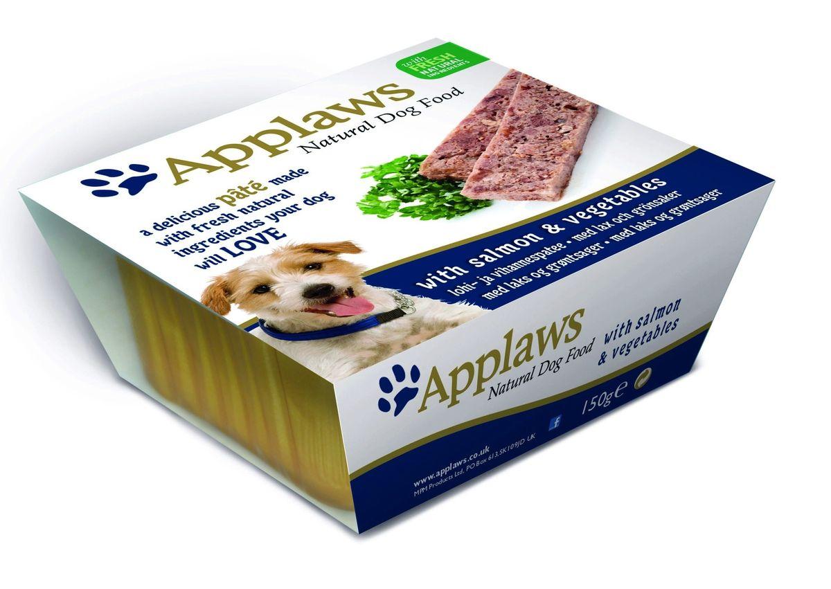 Паштет для Собак с Лососем и овощами (Dog Pate with Salmon & vegetables), 150 г10295Нежный паштет Applaws – это полнорационная порция мясного/рыбного мусса с добавлением всех необходимых для собаки витаминов и минералов. Упаковка в виде алюминиевого контейнера прекрасно сохраняет качество ингредиентов и его непревзойденный вкус. Состав: Курица 27%, Свинина 19%, Молодая морковь 8%, Зеленый горошек 8%, Лосось 4%, Форель 4%. Пищевые добавки: Витамин Е 30 МЕ/кг, Сульфат меди 1мг/кг, Сульфат цинка 20 мг/кг. Гарантированный анализ: Белки 10%, Жиры 5,5%, Клетчатка 0,2%, Зола 2,3%, Влага 82%. Условия хранения: в прохладном темном месте