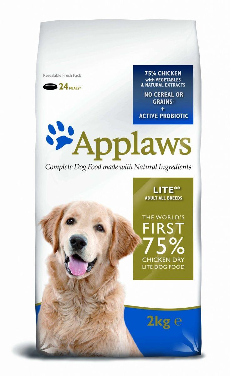 """Applaws Беззерновой для Собак - контроль веса """"Курица/Овощи: 75/25%"""" (Dry Dog Chicken Light), 2 кг 10306"""