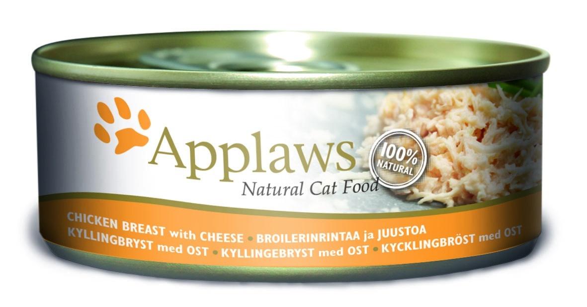 Консервы для кошек Applaws, с куриной грудкой и сыром, 156 г24354Каждая баночка Applaws содержит порцию свежего мяса, приготовленного в собственном бульоне. Для приготовления любого типа консервов используется мясо животных свободного выгула, выращенных на фермах Англии. В состав каждого рецепта входит только три/четыре основных ингредиента и ничего более. Не содержит ГМО, синтетических консервантов или красителей. Не содержит вкусовых добавок. Состав: Филе куриной грудки 70%, куриный бульон 24%, сыр 5%, рис 1%. Гарантированный анализ: Белок 14%, Клетчатка 1%, Жиры 0,3%, Зола 2%, Влага 82%. Товар сертифицирован. Условия хранения: в прохладном темном месте