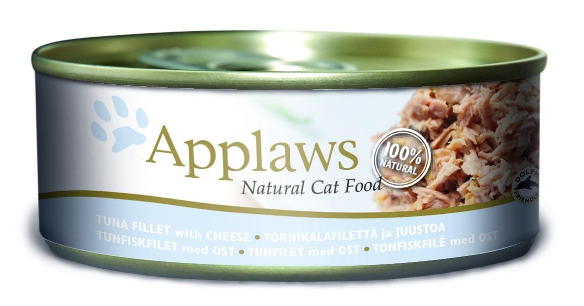 Консервы для кошек Applaws, с тунцом и сыром, 156 г24355Каждая баночка Applaws содержит порцию свежего мяса, приготовленного в собственном бульоне. Для приготовления любого типа консервов используется мясо животных свободного выгула, выращенных на фермах Англии. В состав каждого рецепта входит только три/четыре основных ингредиента и ничего более. Не содержит ГМО, синтетических консервантов или красителей. Не содержит вкусовых добавок. Состав: филе тунца 70%, рыбный бульон 23%, сыр 6%, рис 1%. Гарантированный анализ: белок 14%, клетчатка 1%, жиры 0,5%, зола 2%, влага 82%. Товар сертифицирован. Условия хранения: в прохладном темном месте