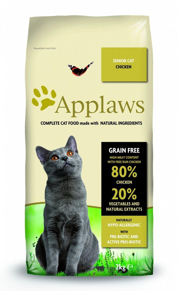 Беззерновой для Пожилых кошек Курица/Овощи: 80/20% (Dry Cat Senior), 2 кг24398Беззерновая линейка Холистик кормов для кошек Applawsизготовлена по особым рецептам, разработанными диетологами института Великобритании. Правильная диета очень важна для питомцев, ведь она меняется в зависимости от жизненного цикла. Также полнорационные корма должны включать в себя необходимое количество витаминов и минералов. В рецептах сухих кормов Applaws учтен не только перечень наиболее необходимых минералов и витаминов, но и их строгий баланс. Так как сухой корм изготавливается только из натуральных качественных ингредиентов, крокеты привлекут внимание любого, даже очень привередливого питомца. Состав: Дегидрированное мясо цыпленка (мин. 75%), мелкопорубленное филе цыпленка (мин. 12%), молодой картофель (мин. 6%), свекла, пивные дрожжи, подлива с мяса птицы приготовленной в собственном соку (мин. 1%), Клетчатка, лососевый жир (источник Омега 3), кокосовое масло, витамины и минералы, яичный порошок, хлорид натрия, карбонат кальция, сушеные водоросли, клюква, DL -...