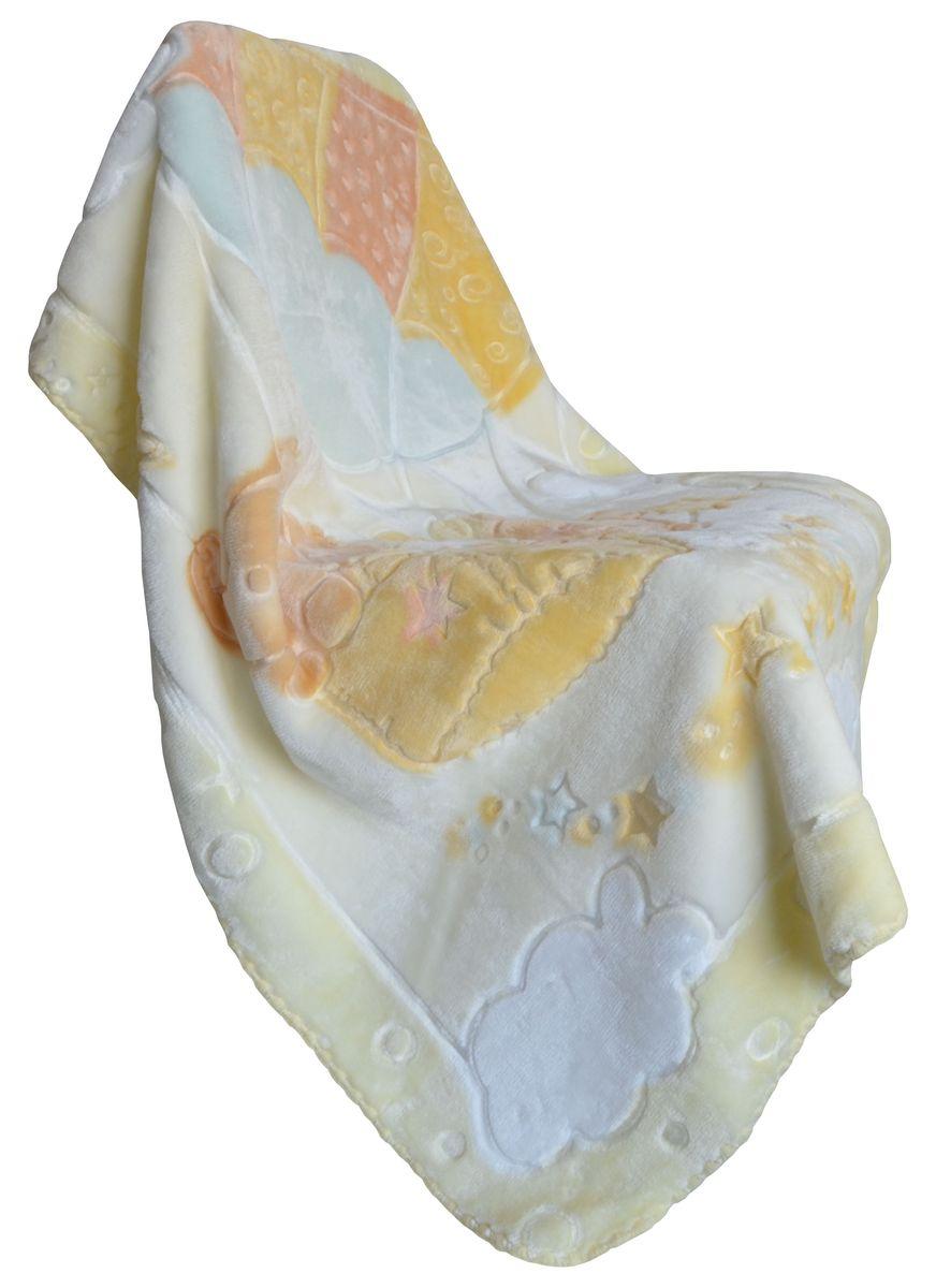 Bonne Fee Плед-одеяло 80х110, набивка, жаккардовый рисунок, желтыйОПОН/80-жёлПриятный и мягкий на ощупь, но при этом плотный и надёжный материал. Выстреженный жаккардовый рисунок не оставляет равнодушным никого! Нежность, забота, любовь и тепло - этими словами можно описать плед-одеяло для малышей. Отличное качество и практичность! Любите своего ребёнка и дарите ему лучшее!