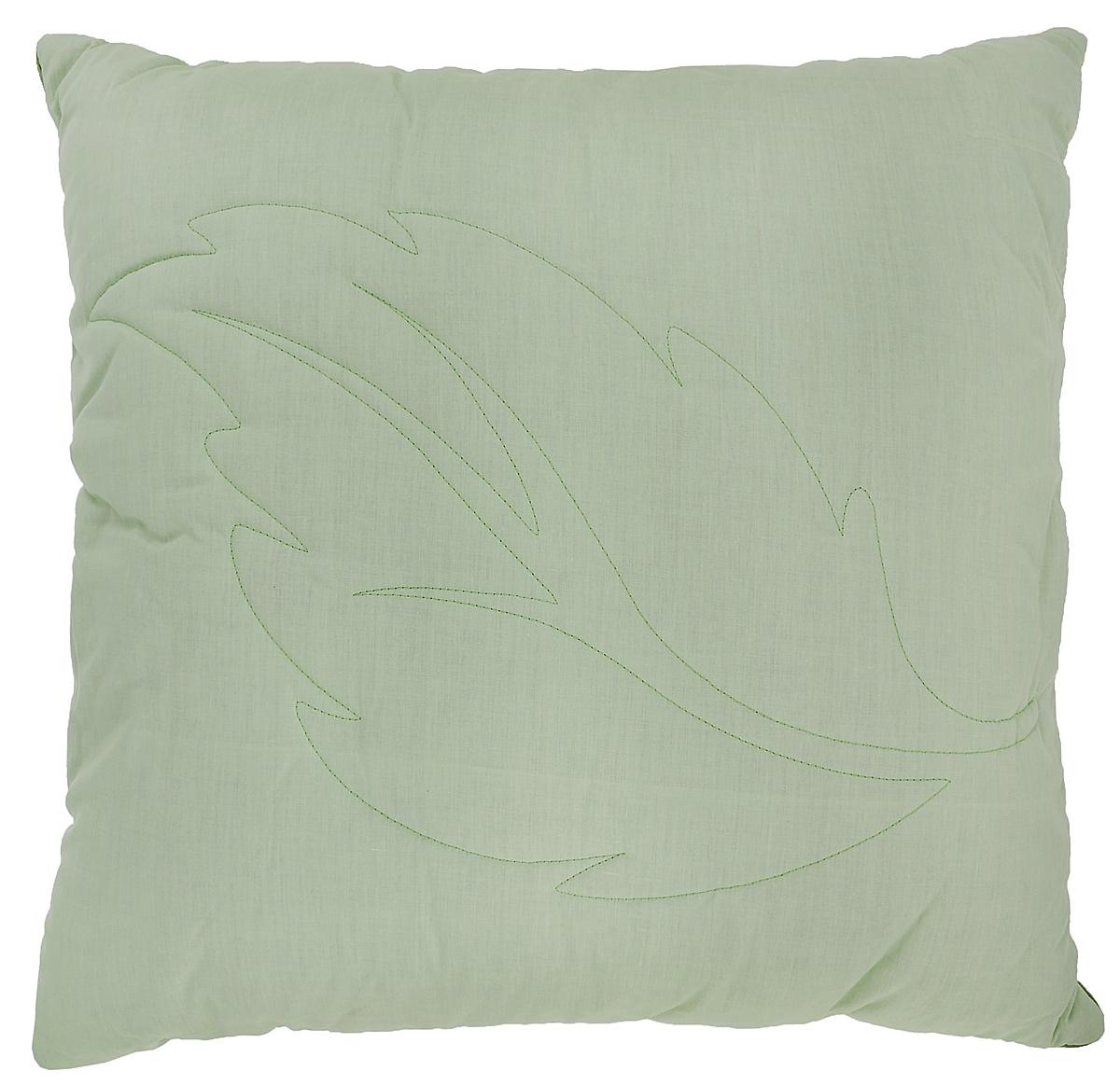 "Подушка Primavelle ""Ortica"", наполнитель: крапива, цвет: светло-зеленый, 68 х 68 см"