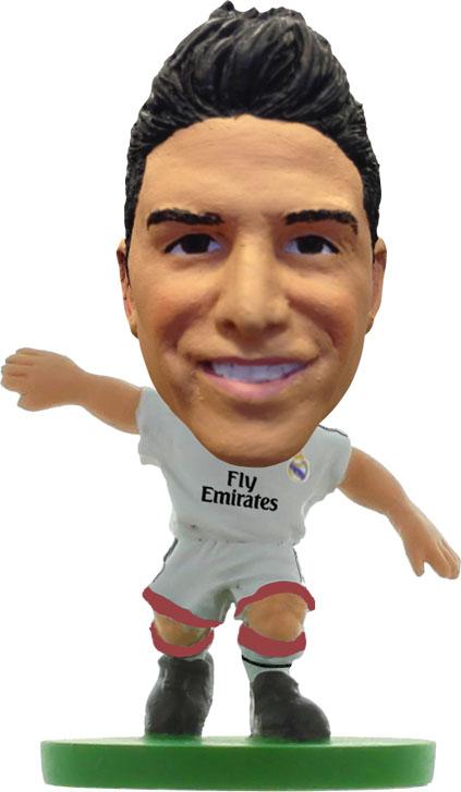 Soccerstarz Фигурка футболиста Real Madrid James RodriguezFig351Soccerstarz фигурка футболиста James Rodriguez (Real Madrid, в прозрачной упаковке) (401114) Высота фигурки 5см В комплекте карточка коллекционера Официальный Лицензионный продукт