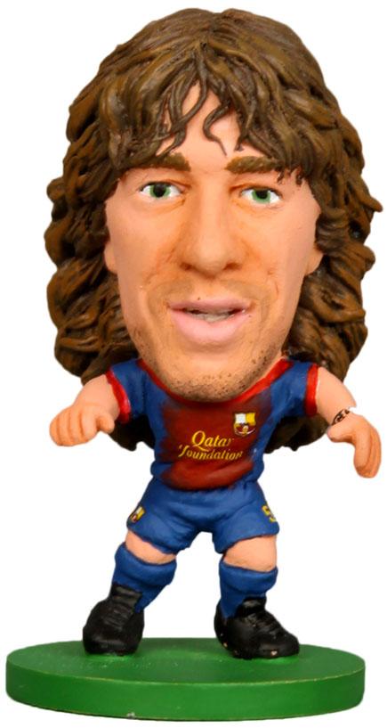 Soccerstarz Фигурка футболиста Barcelona Carles Puyol Home Kit  фигурка футболиста soccerstarz фигурка футболиста