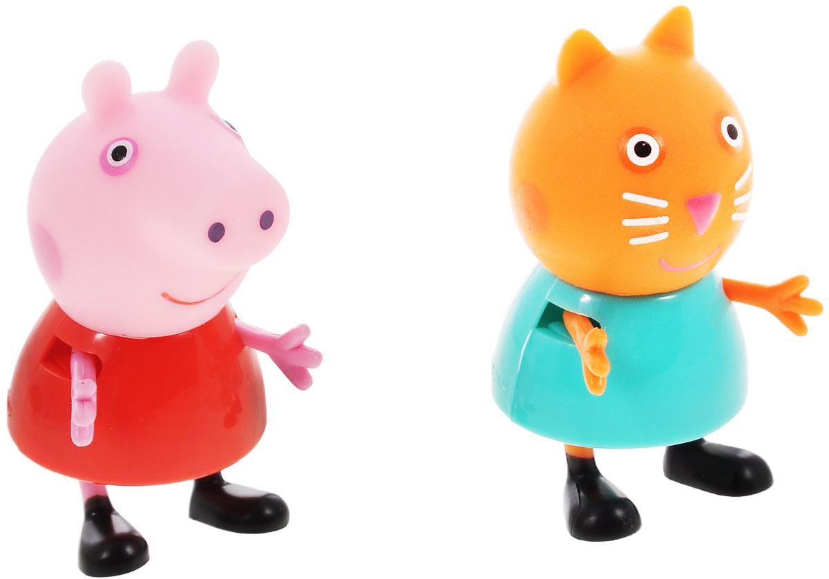 Peppa Pig Игровой набор Пеппа и Кенди28818Игровой набор Peppa Pig Пеппа и Кенди непременно понравится вашему ребенку и займет его внимание надолго. Набор включает две фигурки: свинку Пеппу и кошечку Кенди. Ручки и ножки фигурок двигаются. Ваш ребенок будет с удовольствием играть с этим набором, придумывая различные истории и составляя собственные сюжеты. Пеппа - симпатичная маленькая свинка, которая живет вместе со своими Мамой Свинкой, Папой Свином и маленьким братиком Джорджем. Пеппа обожает играть, наряжаться, бывать в новых местах и заводить новые знакомства, но самое любимое занятие Пеппы - прыгать в грязных лужах. Герои мультфильма наделены частично качествами людей, частично качествами животных. Они ходят в одежде, живут в домах, ездят на машинах, ходят на работу и в театр. Дети отмечают дни рождения, играют в парках, катаются на катках и занимаются всем, что присуще людям. В то же время свинки постоянно хрюкают, овечки блеют, а кошки мяукают. Игровой набор Peppa Pig Пеппа и Кенди станет отличным...