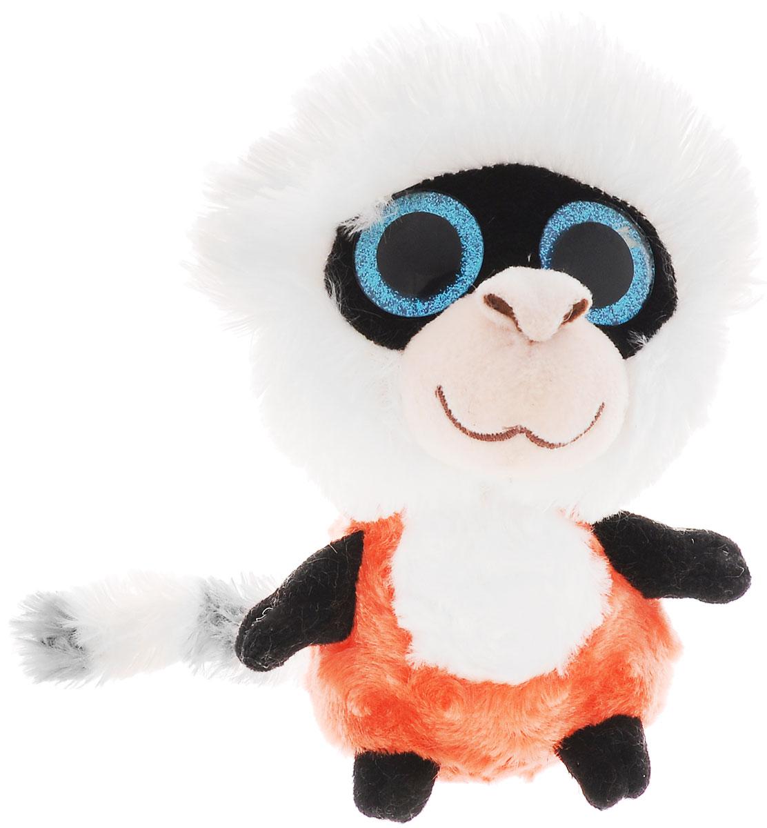 Aurora Мягкая игрушка Юху и друзья. Обезьянка Колобус, 15 см65-121Очаровательная мягкая игрушка Юху и друзья. Обезьянка Колобус принесет радость и подарит своему обладателю мгновения нежных объятий и приятных воспоминаний. Огромные глаза Колобуса выполнены из пластика, мордочка обезьянки имеет уплотненную форму и широкие ноздри. Обезьянка обладает стильным и неповторимым дизайном, необычной формой и яркой расцветкой. Игрушка изготовлена из экологически чистых материалов: высококачественного плюшa и гипoaллepгeнного cинтепoна. Не деформируется и не теряет внешний вид после машинной стирки. Великолепное качество исполнения делают эту игрушку чудесным подарком к любому празднику, как для ребенка, так и для взрослых.