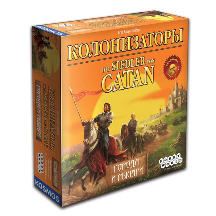 Hobby World Настольная игра Колонизаторы Города и Рыцари (3 -е издание) ( 1155 )