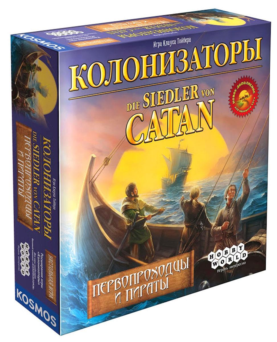 Hobby World Настольная игра Колонизаторы Первопроходцы и Пираты ( 1165 )