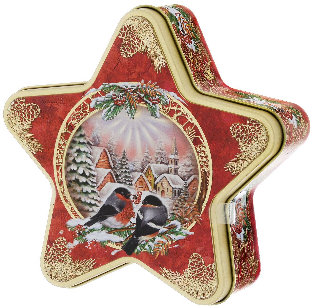 Hilltop Морозный рассвет Рождественский черный листовой чай, 100 г4607099302327Ароматный черный чай Hilltop Морозный рассвет с корицей и цедрой апельсина. Дополнен миндальным орехом, инжиром и гвоздикой.