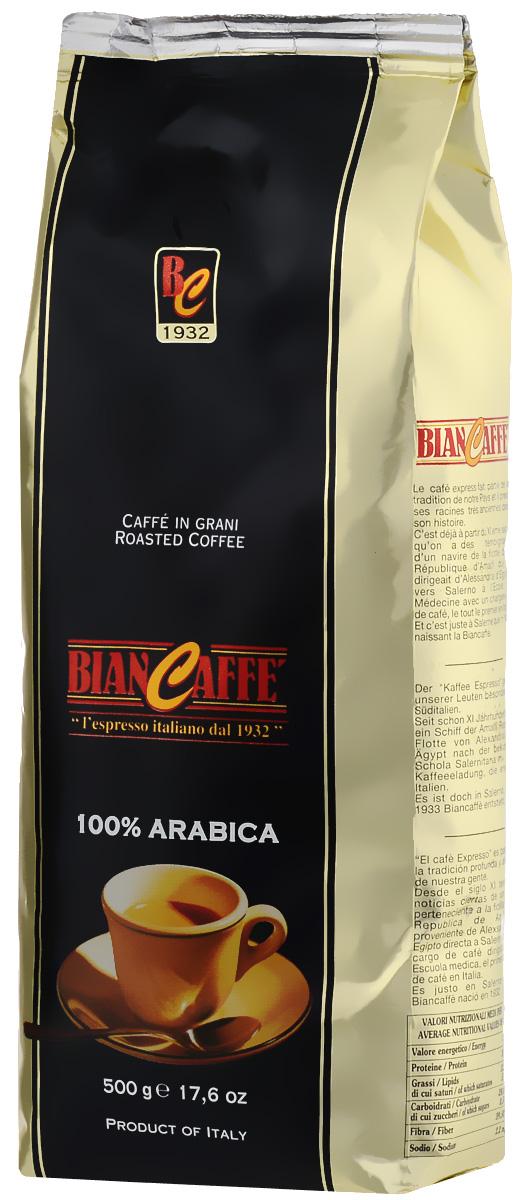 Bian Caffe Espresso Arabica кофе в зернах, 500 г8003661015002Истинные кофейные гурманы по достоинству оценят кофе Bian Caffe Espresso Arabica, сочетающий в себе нежный, слегка сладковатый вкус и богатый аромат. Послевкусие этого напитка - благородное и полновесное.
