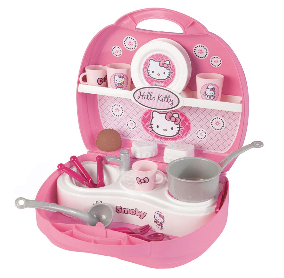 Smoby Игровой набор Hello Kitty Мини-кухня