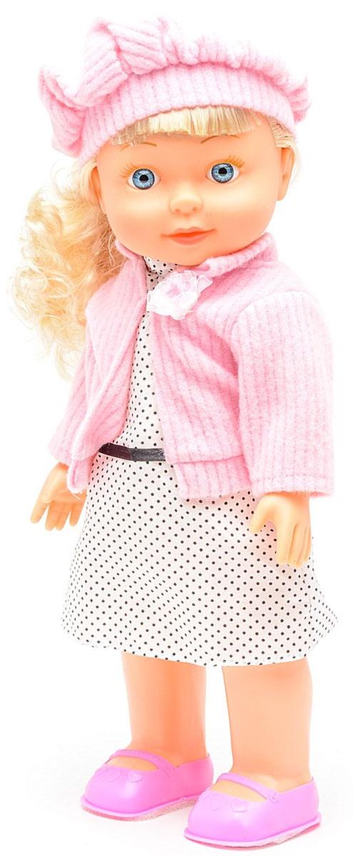 Затейники Кукла Моя РадостьGT7780Кукла станет одним из самых любимых персонажей в коллекции вашего ребенка. Она одета в свой любимый сарафан в горошек и косынку. У куклы мягконабивное тело. Функции: Наклоняет голову когда чихает, сморкается в платочек, согревается когда одевает кофточку, пьёт лекарство ,произносит 30 фраз. В комплект входит: Кукла, платочек,кофточка, ложечка. Работает от 3 х АА батареек( в комплекте демонстрационные).
