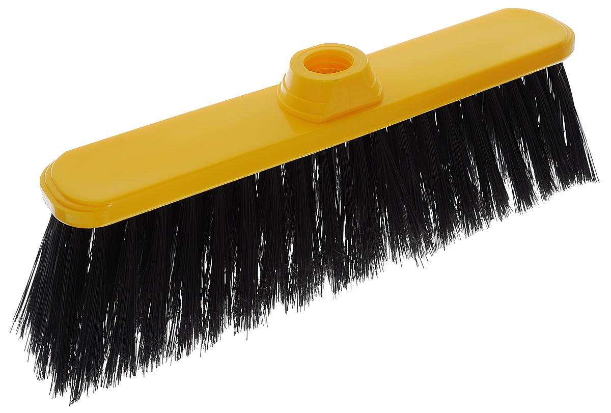 Щетка-насадка Idea Классик Воронины для уборки мусора, цвет: желтый, черныйМ 5105_желтыйЩетка-насадка Idea Классик Воронины, изготовленная из прочного полипропилена, предназначена для уборки в доме и на улице. Упругие и длинные волоски щетки-насадки не оставят от грязи и следа. Оригинальная, современная щетка для швабры, которую можно подобрать к любому интерьеру, сделает уборку эффективнее и приятнее. Универсальная резьба подходит ко всем видам ручек. Размер рабочей поверхности: 30 см х 6,5 см. Длина ворса: 7,5 см.