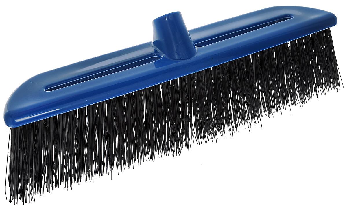 Щетка-насадка Альтернатива, жесткая, цвет: синий, черныйМ932_синийЩетка-насадка Альтернатива, изготовленная из прочного пластика, предназначена для уборки на улице. Жесткие и длинные волоски щетки-насадки не оставят от грязи и следа. Оригинальная, современная щетка для швабры, которую можно подобрать к любому интерьеру, сделает уборку эффективнее и приятнее. Универсальная резьба подходит ко всем видам ручек. Размер рабочей поверхности: 39 см х 8 см. Длина ворса: 8 см.