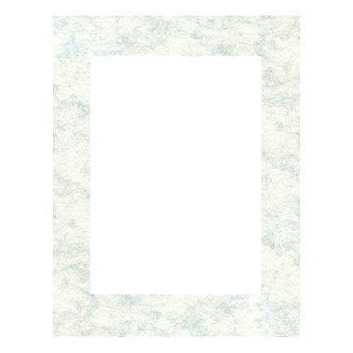 Паспарту Василиса, цвет: бело-голубой, 21 х 30 см580893Паспарту Василиса, изготовленное из плотного картона, предназначено для оформления художественных работ и фотографий. Оно располагается между багетной рамой и изображением, делая акцент на фотографии, усиливая ее визуальное восприятие. Кроме того, на паспарту часто располагают поясняющие подписи, автограф изображенного. Внешний размер: 21 см х 30 см. Внутренний размер: 13 см х 22 см.