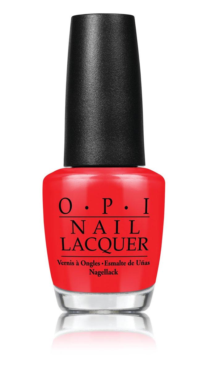 OPI Лак для ногтей I Stop for Red, 15 млNLA74Лак для ногтей из коллекции Brights OPI 2015. Жгуче-красный оттенок. Палитра лаков Brights OPI - это яркие лаки для ногтей, которые отлично смотрятся как на длинных, так и на коротких ногтях. Для более насыщенного маникюра наносите лаки Brights поверх базового покрытия белого цвета. Вся коллекция представлена также и в гель-лаке GelColor.