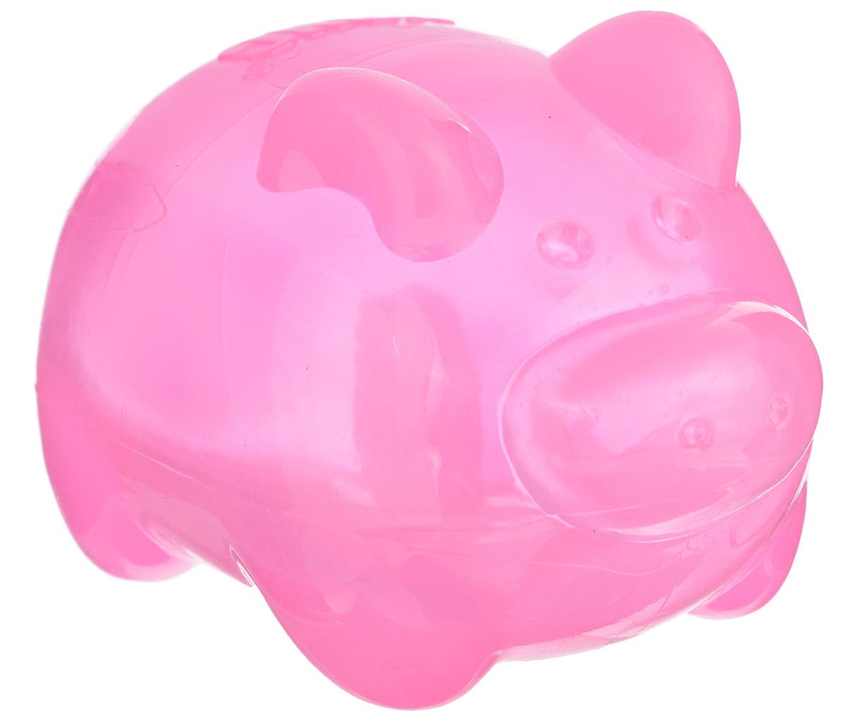Игрушка для собак Kong Сквиз Джелс. Свинка, с пищалкой, цвет: розовый, 6 см х 6 см х 9,5 смPSJ1AE_свинка, розовыйИгрушка Kong Сквиз Джелс. Свинка выполнена из качественной синтетической резины. Пищалка спрятана таким образом, чтобы собака не могла вынуть ее. Такая игрушка отлично отскакивает от земли. Изделие предназначено для собак крупных пород. Яркий дизайн привлечет внимание вашего любимца и займет его на долгое время.