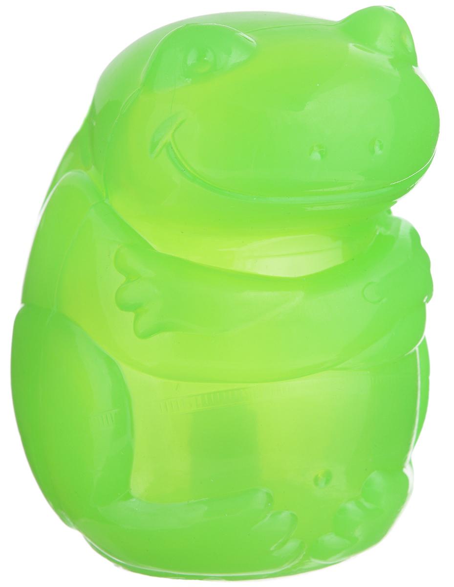 Игрушка для собак Kong Сквиз Джелс. Лягушка, с пищалкой, цвет: зеленый, 6,5 см х 6,5 см х 9,5 смPSJ1AE_лягушка, зеленыйИгрушка Kong Сквиз Джелс. Лягушка выполнена из качественной синтетической резины. Пищалка спрятана таким образом, чтобы собака не могла вынуть ее. Такая игрушка отлично отскакивает от земли. Изделие предназначено для собак крупных пород. Яркий дизайн привлечет внимание вашего любимца и займет его на долгое время.